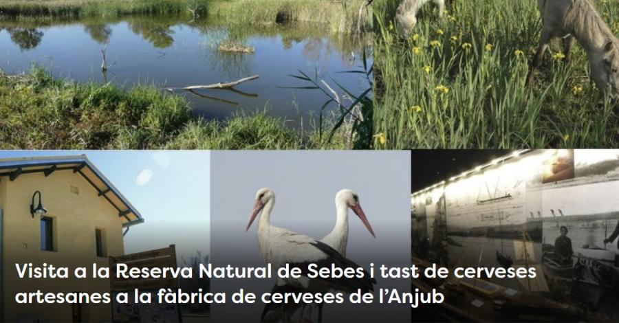 Setmana de la Natura: Visita a la Reserva Natural de Sebes