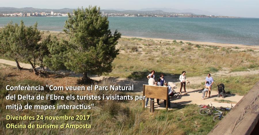 """Conferència """"Com veuen el Parc Natural del Delta de l'Ebre els turistes i visitants per mitjà de mapes interactius"""""""