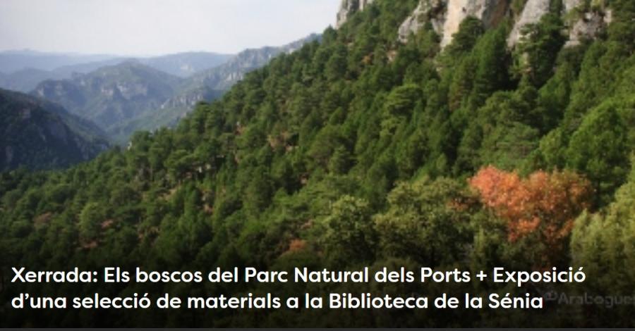 Setmana de la Natura. Xerrada: Els boscos del Parc Natural dels Ports
