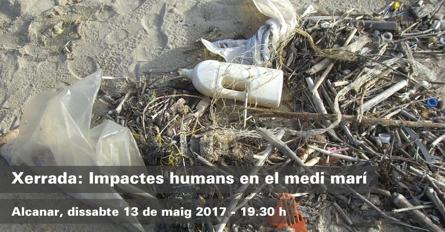 Xerrada: Impactes humans en el medi marí
