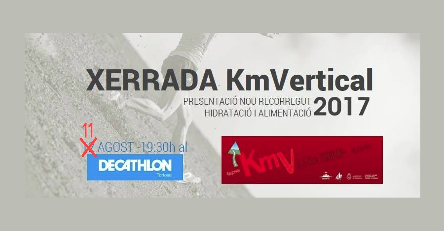 Xerrada KMVertical 2017