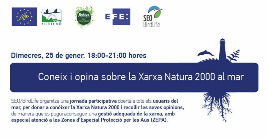 Coneix i opina sobre la Xarxa Natura 2000 al mar